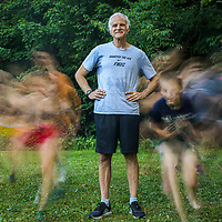 F-M High School cross country coach Bill Aris won't compromise his principals when it comes to hammering out one of the most decorated cross country program in the country. Photo by N. Scott Trimble | strimble@syracuse.com