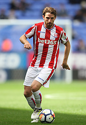 Joe Allen of Stoke City in action - Mandatory by-line: Jack Phillips/JMP - 29/07/2017 - FOOTBALL - Macron Stadium - Bolton, England - Bolton Wanderers v Stoke City - Pre-Season Club Friendly