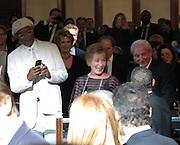Celebrities at the USC Shoah Foundation's 20th Anniversary Gala at the Hyatt Regency Century Plaza in LA.<br /><br />Pictured: Samuel L Jackson and Judge Judy<br />Ref: SPL750371  070514  <br />Picture by: Splash News<br /><br />Splash News and Pictures<br />Los Angeles:310-821-2666<br />New York:212-619-2666<br />London:870-934-2666<br />photodesk@splashnews.com