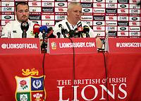 Rugby Union - 2017 British & Irish Lions Tour of New Zealand - Warren Gatland Press Conference<br /> <br /> Lions Head Coach Warren Gatland announces Ken Owens as captain for the Blues match to the press, Auckland. <br /> <br /> COLORSPORT/LYNNE CAMERON
