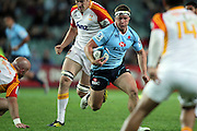 Michael Hooper. Waratahs v Chiefs. 2013 Investec Super Rugby Season. Allianz Stadium, Sydney. Friday 19 April 2013. Photo: Clay Cross / photosport.co.nz