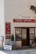Wine shop. Chavignol, Sancerre, Loire, France