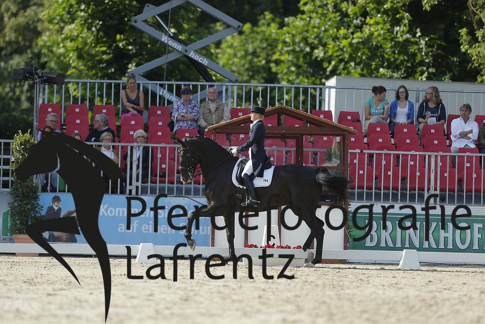 Capellmann, Nadine, Dark Dynamic<br /> Münster - Turnier der Sieger<br /> Grand Prix Special<br /> © www.sportfotos-lafrentz.de/ Stefan Lafrentz