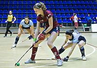 ROTTERDAM -  Finale tussen Laren D2 en KZ D2 tijdens het Landskampioenschap reserveteam zaal 2013. Laren wint na strafballen. FOTO KOEN SUYK