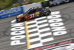 June 1, 2018 - Long Pond, Pennsylvania, United States of America - Chris Buescher (37) brings his car down the frontstretch during qualifying for the Pocono 400 at Pocono Raceway in Long Pond, Pennsylvania. (Credit Image: © Chris Owens Asp Inc/ASP via ZUMA Wire)