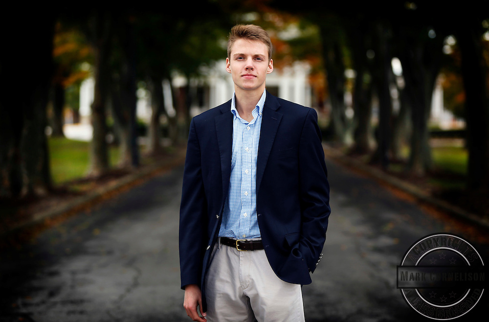 Grant Brockman  on Sunday October 25, 2015 in Lexington, KY. Photo by Mark Cornelison | Staff