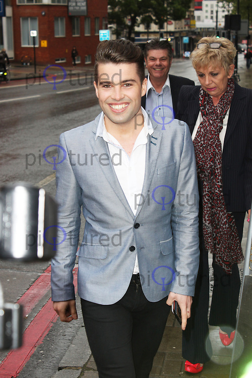 LONDON - May 14: Joe McElderry at the Aston Martin Tailoring Collection - VIP Launch (Photo by Brett D. Cove)