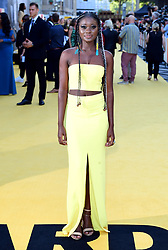 Shantol Jackson attending the Yardie premiere at the BFI Southbank in London.