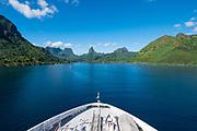 Opuhunu Bay, Moorea, French Polynesia, South Pacific