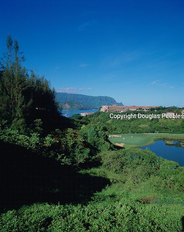 Golf Course, Princeville, Hanalei, Kauai, Hawaii, USA<br />