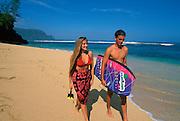 Hideaway beach, Princeville, Hanalei, Kauai, Hawaii, USA<br />