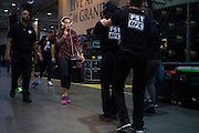 LAS VEGAS, NV - JULY 8:  Joanna Jedrzejczyk enters the building before The Ultimate Fighter Finale at MGM Grand Garden Arena on July 8, 2016 in Las Vegas, Nevada. (Photo by Cooper Neill/Zuffa LLC/Zuffa LLC via Getty Images) *** Local Caption *** Joanna Jedrzejczyk