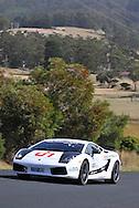 Jason White & John White .2007 Lamborghini Gallardo Superleggera.Day 1.Targa Wrest Point 2009.Southern Tasmania.31st of January 2009.(C) Joel Strickland Photographics.