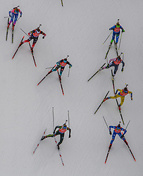 March 16, 2019 - –Stersund, Sweden - 190316 Athletes compete in the Women's 4x6 km Relay during the IBU World Championships Biathlon on March 16, 2019 in Östersund..Photo: Petter Arvidson / BILDBYRÃ…N / kod PA / 92268 (Credit Image: © Petter Arvidson/Bildbyran via ZUMA Press)