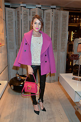 ELLA CATLIFF at the Roger Vivier 'The Perfect Pair' Frieze cocktail party celebrating Ambra Medda & 'Miss Viv' at the Roger Vivier Boutique, Sloane Street, London on 15th October 2014.