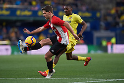 January 20, 2019 - Villarreal, Castellon, Spain - Karl Toko Ekambi of Villarreal and Yeray Alvarez of Athletic Club de Bilbao during the La Liga Santander match between Villarreal and Athletic Club de Bilbao at La Ceramica Stadium on Jenuary 20, 2019 in Vila-real, Spain. (Credit Image: © Maria Jose Segovia/NurPhoto via ZUMA Press)