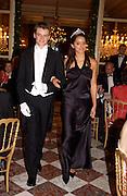 Jenna Barcley and Pierre de Montesquiou, Crillon 2004 Debutante Ball. Crillon Hotel. Paris. 26 November 2004. ONE TIME USE ONLY - DO NOT ARCHIVE  © Copyright Photograph by Dafydd Jones 66 Stockwell Park Rd. London SW9 0DA Tel 020 7733 0108 www.dafjones.com