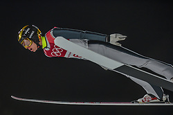 February 10, 2018 - Pyeonchang, Gangwon, South Korea - Mikhail NazarovofNew Zealand at mens normal hill final at 2018 Pyeongchang winter olympics at Alpensia Ski Jumping Centre, Pyeongchang, South Korea on February 10, 2018. Ulrik Pedersen/Nurphoto  (Credit Image: © Ulrik Pedersen/NurPhoto via ZUMA Press)