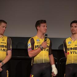 21-12-2018: Wielrennen: Presentatie Team Jumbo: Veghel<br />Steven Kruijswijk; Dylan Groenewegen; Primoz Roglic