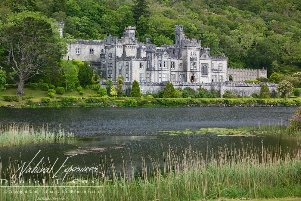 Kylemore Abbey, Ireland.