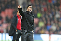 Football - 2019 / 2020 Premier League - AFC Bournemouth vs. Arsenal<br /> <br /> Arsenal Head Coach Mikel Arteta shouts instructions during the Premier League match at the Vitality Stadium (Dean Court) Bournemouth  <br /> <br /> COLORSPORT/SHAUN BOGGUST