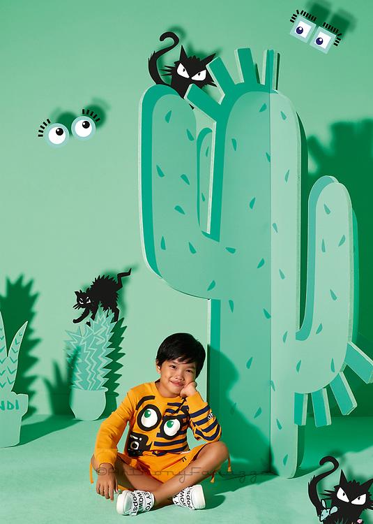 FENDI KIDS Fendi Campaign