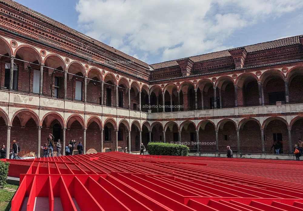 Milan Design Week, Installation at the Università Statale