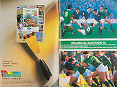 Rugby 1988 - 05/03 Irish Rugby Football Union, Ireland v Wales,