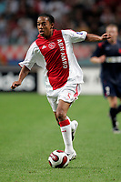 Fotball<br /> Kvalifisering UEFA Champions League<br /> 15.08.2007<br /> Ajax v Slavia Praha<br /> Foto: ProShots/Digitalsport<br /> NORWAY ONLY<br /> <br /> Urby Emanuelson - Ajax
