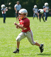 Laconia Youth Football held their 5th annual Jamboree Saturday.  (Karen Bobotas/for the Laconia Daily Sun)Laconia Youth Football Jamboree Saturday,  August 20, 2011.