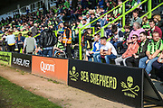 Sea Shepherd A-Boards during the EFL Sky Bet League 2 match between Forest Green Rovers and Milton Keynes Dons at the New Lawn, Forest Green, United Kingdom on 30 March 2019.