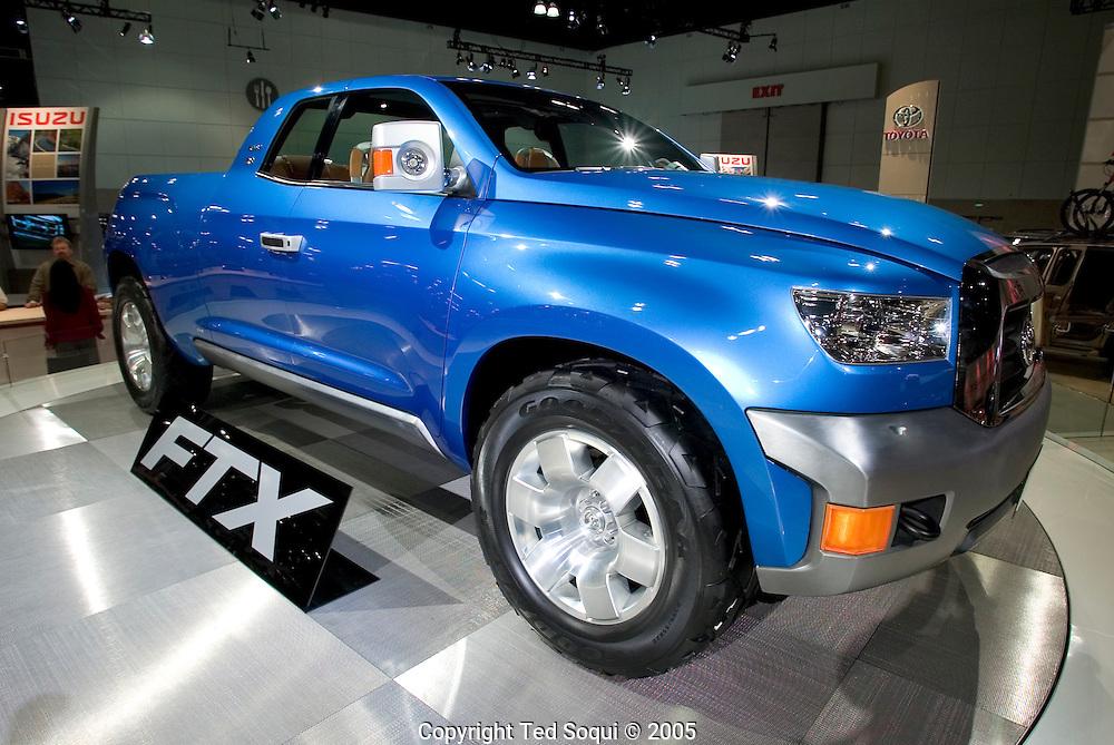 FTX Concept truck by Toyota..LA Auto show at the LA Convention Center..1/5/05.