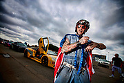 Gumball 3000 LA to Miami. Duane from the misfits Duane Peters Portrait