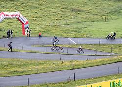 12.07.2019, Kitzbühel, AUT, Ö-Tour, Österreich Radrundfahrt, 6. Etappe, von Kitzbühel nach Kitzbüheler Horn (116,7 km), im Bild Rennfahrer am Kitzbüheler Horn, Tirol // Cyclists at the Kitzbüheler Horn Tyrol during 6th stage from Kitzbühel to Kitzbüheler Horn (116,7 km) of the 2019 Tour of Austria. Kitzbühel, Austria on 2019/07/12. EXPA Pictures © 2019, PhotoCredit: EXPA/ Reinhard Eisenbauer
