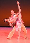 GASTON DE CARDENAS / EL NUEVO HERALD -- MIAMI, FL --  4/17/2009 -- Mary Carmen Catoya and Renato Penteado principle dancers  in The Quick-Step e part of Miami City Ballet presention of Open Barre 3 a sneak preview into the 2009-2010 season at the Miami City Ballet Studios on Miami Beach.