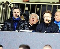 Fotball , 1. februar 2011 , Copa del Sol<br /> Rosenborg - Spartak Moskva 4-0<br /> <br /> Asbjørn Myhre og Petter Myhre , kommentator tv2