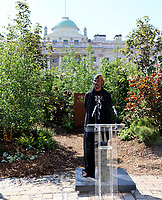 Ini Archibong  ,London Design Biennale 2021 - Somerset House, London photo by Roger alarcon
