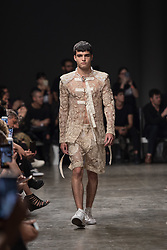 August 28, 2017 - Sao Paulo, Sao Paulo, Brazil - Joao Pimenta fashion show, featuring the Summer 2018 collection during the N44 edition of the Sao Paulo Fashion Week (SPFW), in Sao Paulo, Brazil. (Credit Image: © Paulo Lopes via ZUMA Wire)