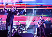 WASHINGTON, DC - December 5th, 2017 - Matt Berninger, Bryan Devendorf, Scott Devendorf and Aaron Dessner of The National perform at The Anthem in Washington, D.C.  The band released their  seventh album, Sleep Well Beast, in September. (Photo by Kyle Gustafson / For The Washington Post)