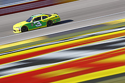 March 2, 2018 - Las Vegas, Nevada, United States of America - March 02, 2018 - Las Vegas, Nevada, USA: Austin Dillon (3)  brings his race car down the front stretch during practice for the Boyd Gaming 300 at Las Vegas Motor Speedway in Las Vegas, Nevada. (Credit Image: © Chris Owens Asp Inc/ASP via ZUMA Wire)