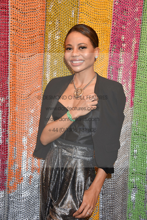 Viscountess Weymouth at a cocktail supper hosted by BOTTLETOP co-founders Cameron Saul & Oliver Wayman, along with Arizona Muse, Richard Curtis & Livia Firth to launch the #TOGETHERBAND campaign at The Quadrant Arcade on April 24, 2019 in London, England.<br /> <br /> ***For fees please contact us prior to publication***