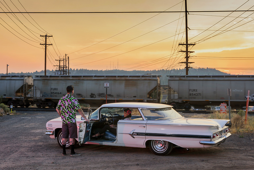 USA, Oregon, America, American, American Dreamscapes, Sierra Marie, Chevy Impala 1960