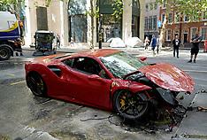 24052020 Ferrari hits a London Bus