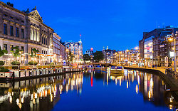 Canals of Amsterdam, Netherlands. 09/06/14. Photo by Andrew Tallon