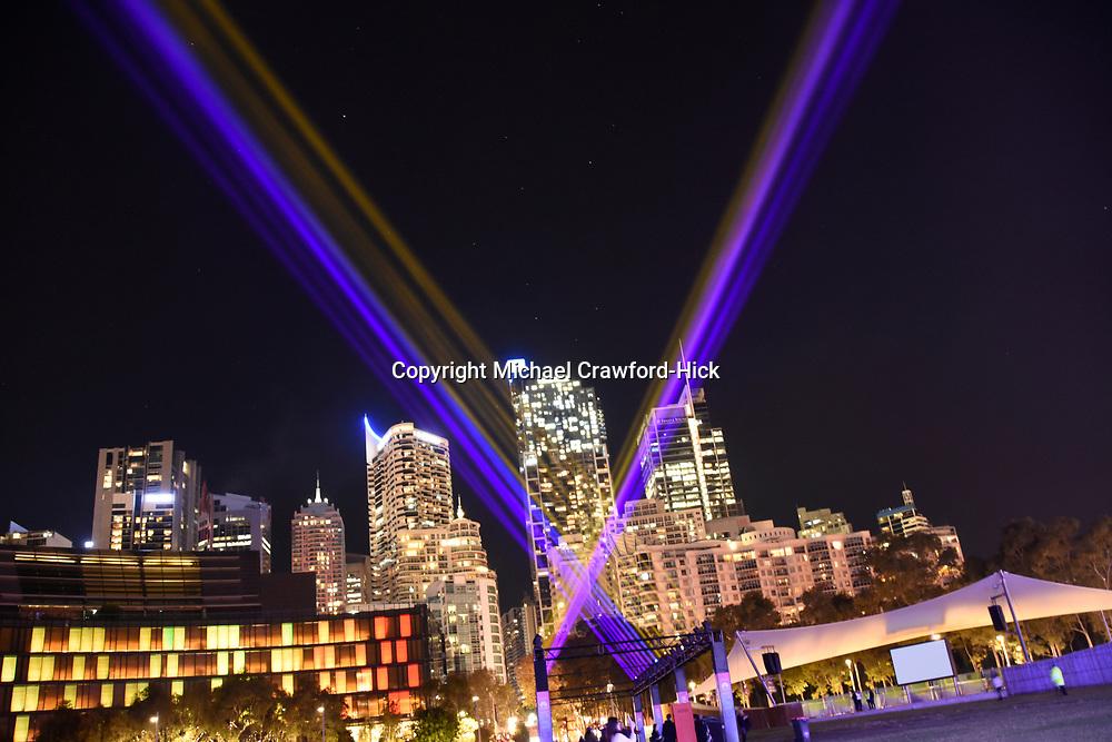 Light Beams at Vivid Sydney