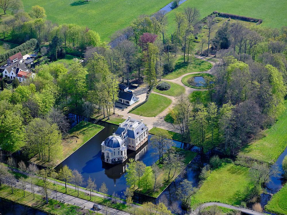 Nederland, Noord-Holland, 's-Gravenland,  07-05-2021; Zuidereinde, Buitenplaats Trompenburgh.<br /> <br /> luchtfoto (toeslag op standaard tarieven);<br /> aerial photo (additional fee required)<br /> copyright © 2021 foto/photo Siebe Swart