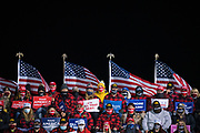 Crowds look on during a 'Make America Great Again' rally in Duluth, Minnesota, U.S. on Wednesday, Sept. 30, 2020. Trump and Democratic nominee Joe Biden began their first debate on an acrimonious note and quickly made it personal, with each candidate interrupting and talking over each other. Photographer: Ben Brewer/Bloomberg