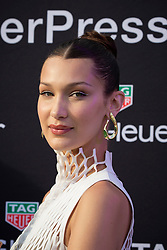 Bella Hadid attends the Tag Heuer gala night (Don't crack under pressure) aboard a boat at Port Hercule during the 76th Grand Prix of Monaco in Monaco, on may 26, 2018. Photo by Marco Piovanotto/ABACAPRESS.COM
