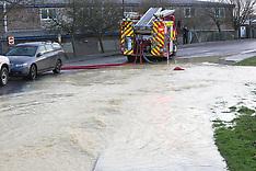 Burst Water main Newport  Isle of Wight