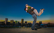 Christina Ellis & Chad Martin, photographed on a mighty chilly day on Federal Hill in Baltimore, MD. Photos taken November 23, 2007